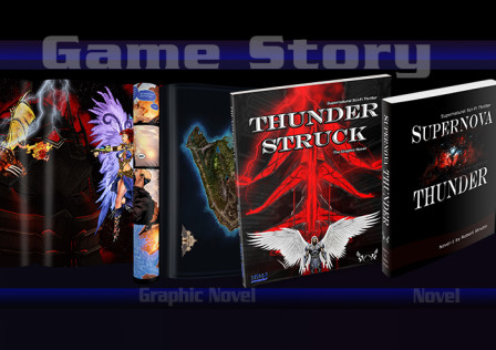Game Story Graphic Novel