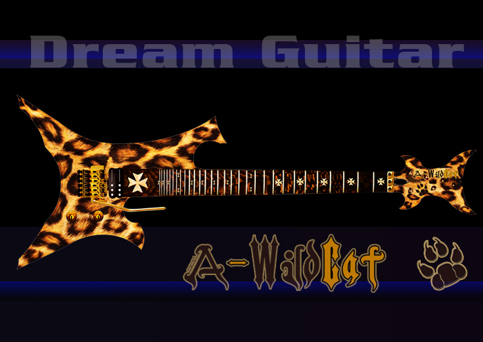 A-Wildcat Dream Guitar - iPlayMore Robert Strutin
